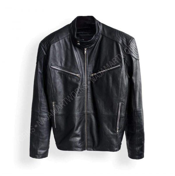 Cyberpunk 2077 Samurai Inspired Jacket | Cyberpunk 2077 Character V Samurai Leather Jacket | Cyberpunk Samurai jacket | Najam Art Works