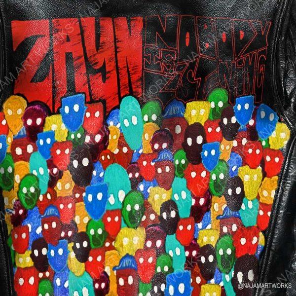 Zayn Nobody is listening Jacket | Zayn Merch | Zayn Nobody is listening | Najam Art Works